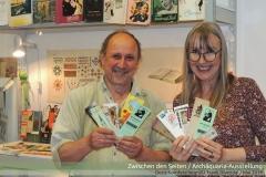 Archäquaria-Führung: Doris Kornfeld begrüßt Frank Divendal / Mai 2019