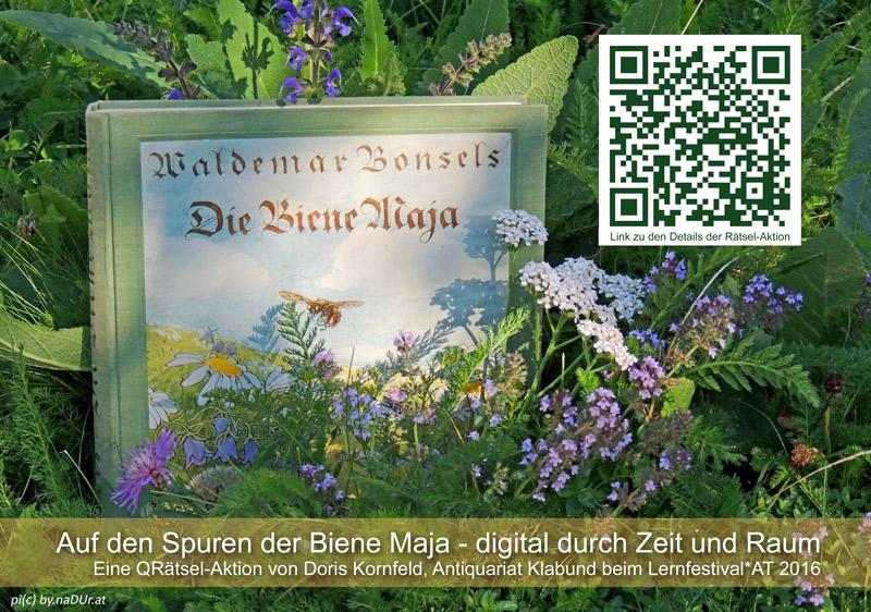 Auf den Spuren der Biene Maja - im Antiquariat Klabund, Wien