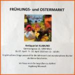 Frühlingsmarkt 2020 mit Ingeborg Wonesch